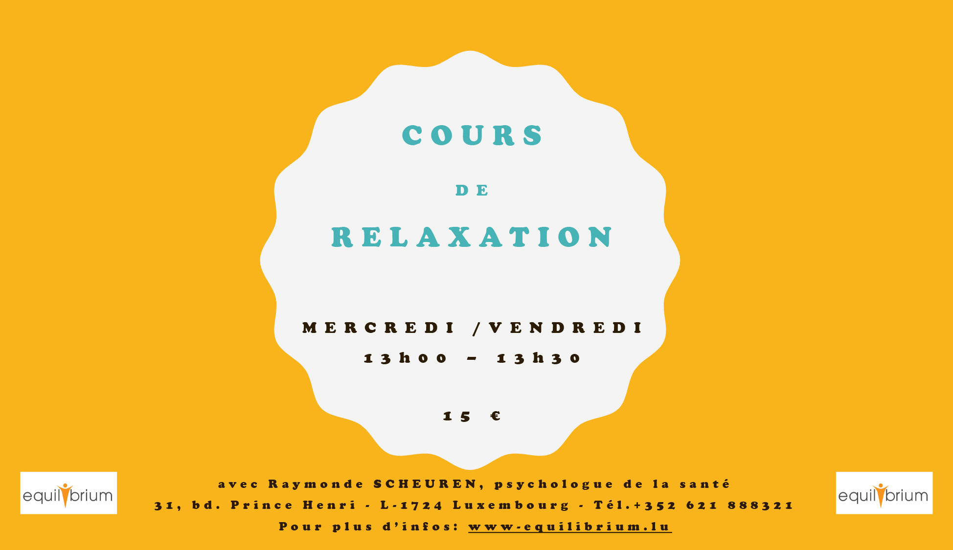 Flyer groupe relaxation FR